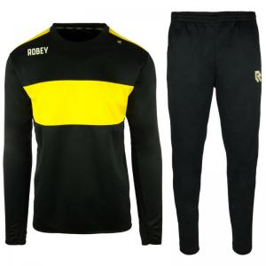 Robey Performance Trainingspak – Zwart-geel