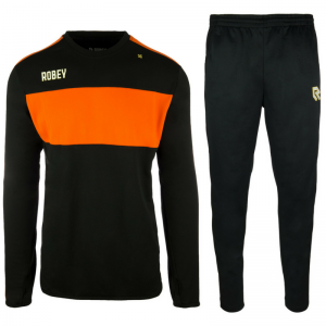 Robey Performance Trainingspak – Zwart-oranje