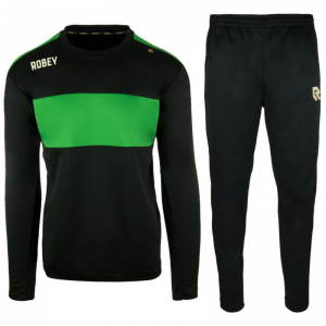 Robey Performance Trainingspak – Zwart-groen